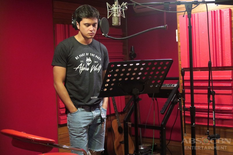 LOOK: JaDine records Till I Met You  theme song