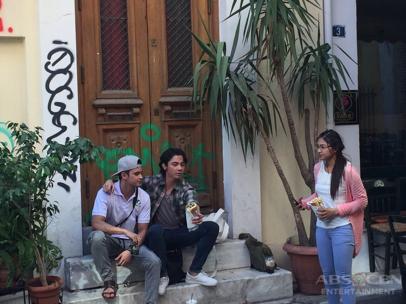 Behind The Scene Photos: Till I Met You Taping in Greece