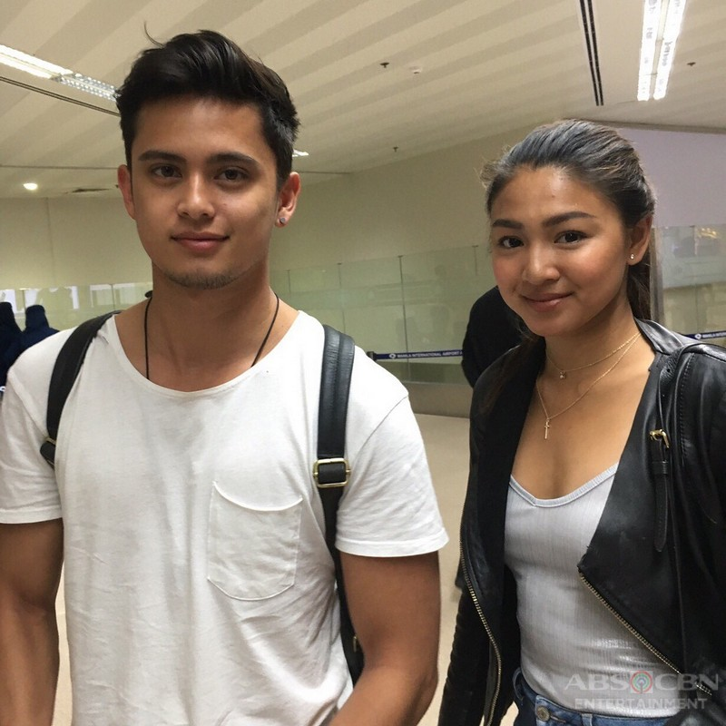 PHOTOS: James and Nadine back home after taping in Greece